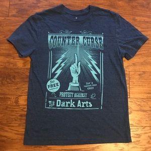 Tops - Blue Harry Potter Counter Curse T-Shirt